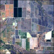 Fields from space