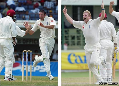 Steve Harmison and Matthew Hoggard both had an excellent tour of the Caribbean in 1994