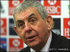 British & Irish Lions head coach Ian McGeechan