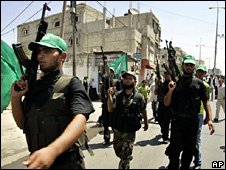 Hamas forces in Gaza (2007)
