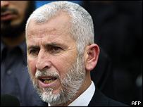 Said Siam, ministro del Interior del gobierno de Hamas que murió en ataque israelí (imagen de archivo)