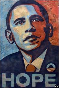 """Cuadro """"Barack Obama"""" que será exhibido en la inauguración presidencial"""