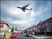 Heathrow flight path