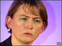 Treasury Chief Secretary Yvette Cooper
