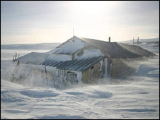Scott's Hut at Cape Evans is in Antarctica