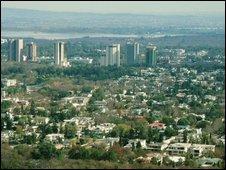 Islamabad skyline