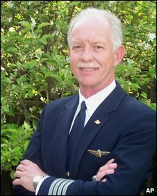 File photograh of Capt Sullenberger
