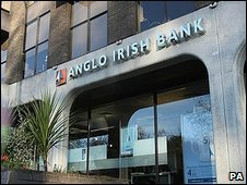 Anglo Irish Bank headquarters in Dublin