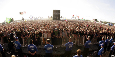 Crowd at 2008's Reading Festival