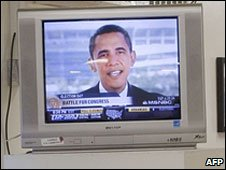 Barack Obama on TV