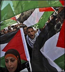 Protest in Ramallah - 15 January