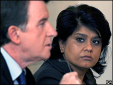 Lord Mandelson and Baroness Vadera