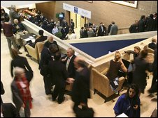 Participants in Davos Congress Centre
