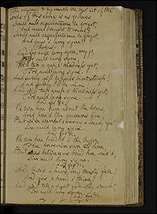Manuscript of Auld Lang Syne (Pic courtesy of the Burns Cottage Museum)