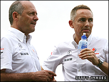 Ron Dennis (left) and Martin Whitmarsh