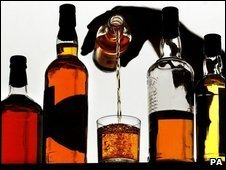 A selection of spirits (archive image)