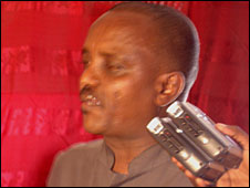 Abdirahman Ahmed - also known as Waldiire. (Photo courtesy of www.dayniile.com)