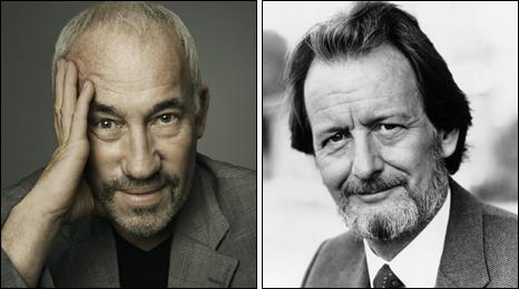 Simon Callow and Ronald Pickup