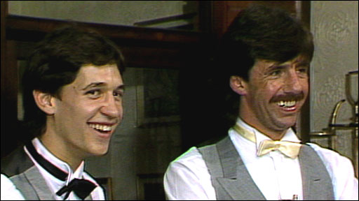 Gary Lineker and Mark Lawrenson