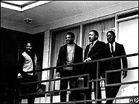Jesse Jackson y Martin Luther King