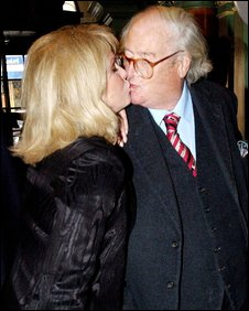 Joanna Lumley and Sir John Mortimer