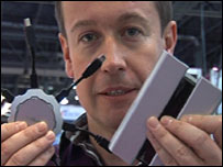 Dan Simmons with Chargepod devices