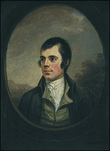 Alexander Nasmyth's portrait of Burns (Pic courtesy of the National Galleries of Scotland)