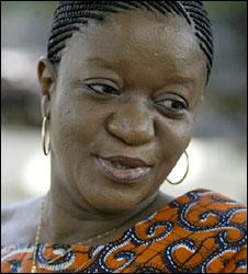 Foreign Minister Zainab Hawa Bangura