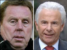Harry Redknapp and Lord Levy