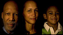 Terrence Roberts, Rebecca Goodloe, Paul Goodloe Jr