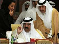 امير قطر ورئيس حكومته