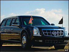 Barack Obama's new presidential limousine