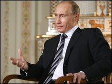 Russian Prime Minister Vladimir Putin, 15 January