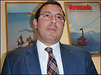 Encargado de negocios de venezuela, Roland Betancourt
