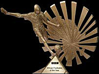 The BBC African Footballer of the Year Award trophy