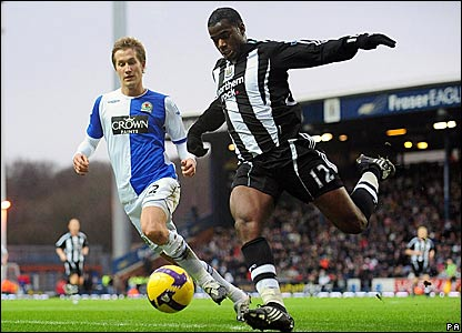 Morten Gamst Pederson, Blackburn Rovers; Sebastien Bassong, Newcastle United