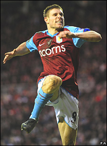 James Milner, Aston Villa