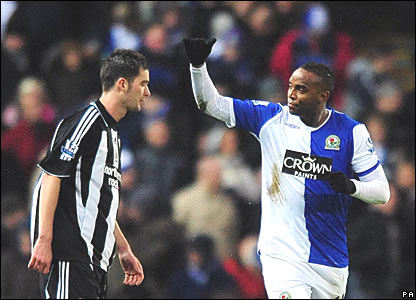 Sanchez Jose Enrique, Newcastle United; Benni McCarthy, Blackburn Rovers
