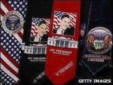 Obama merchandise in Washington DC