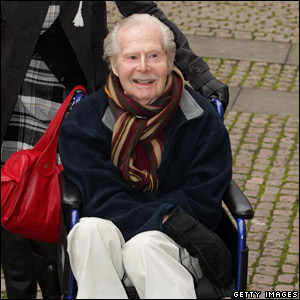 Tony Hart attending the Children Of Courage Awards in 2008