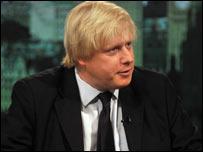 Boris Johnson Mayor of London