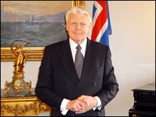 President Olafur Ragnar Grimsson