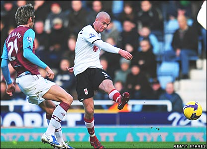 Valon Behrami, West Ham United; Paul Konchesky, Fulham