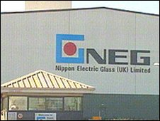 The old NEG glass factory in Cardiff Bay