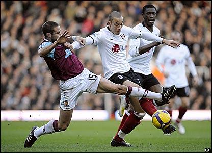 Matthew Upson, West Ham United; Bobby Zamora, Fulham