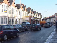 Whitchurch Road, Cathays, Cardiff (general view)