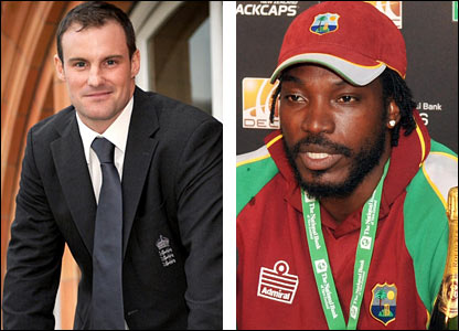 Andrew Strauss and Chris Gayle will be the opposing skippers on this tour