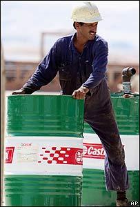 Empleado de compañía petrolera de Bahréin
