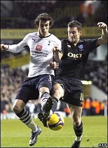 Gareth Bale, Tottenham Hotspur; David Nugent, Portsmouth