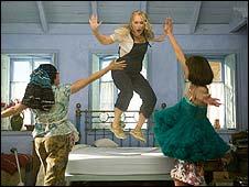 Meryl Streep (centre) in Mamma Mia